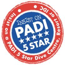 PADI 5 Star GoPro